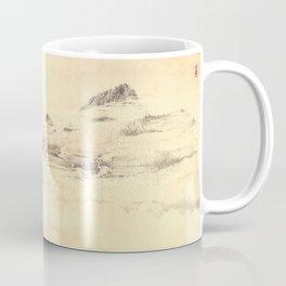 Egrets in Golden Morning Mist Coffee Mug