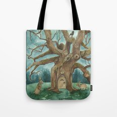 A Visit to House of Crow Tote Bag