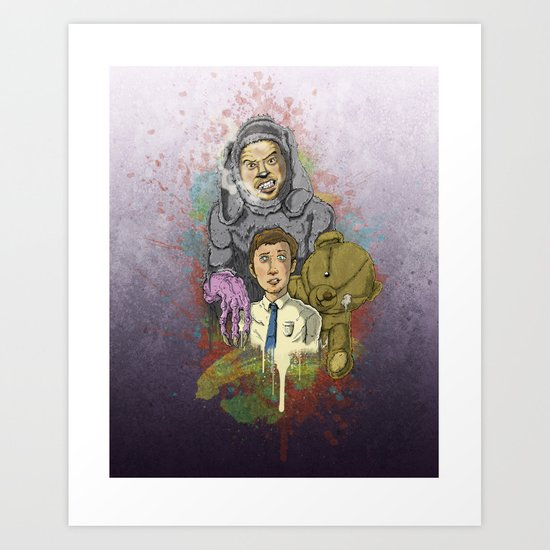 """Wilfred""  Art Print"