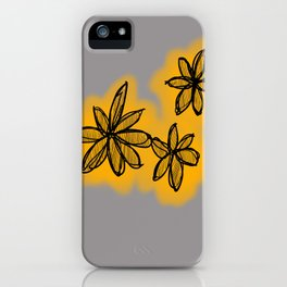 Lala flowa iPhone Case