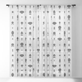 Vessels I Sheer Curtain
