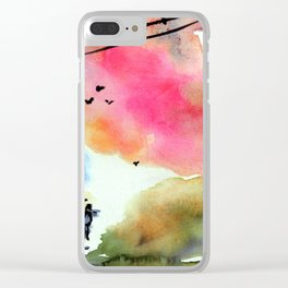 Forever together Clear iPhone Case