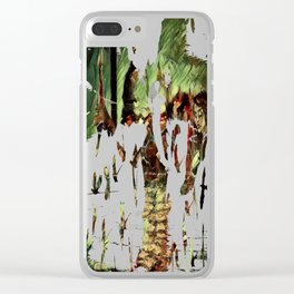 Rusalka: Москва (Fall Morning) Clear iPhone Case