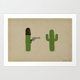 Stick'em Up Art Print