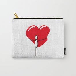 Hug a Heart Carry-All Pouch