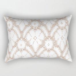 Delicate lace Rectangular Pillow