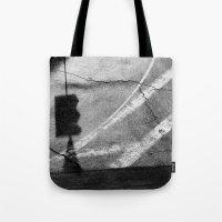 street Tote Bags featuring street by shveshki.istorii