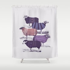 Cool Sweaters Shower Curtain