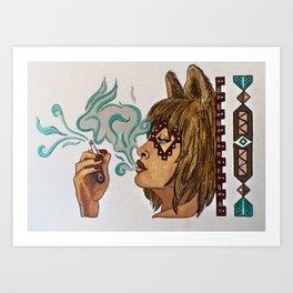Tolinka Art Print
