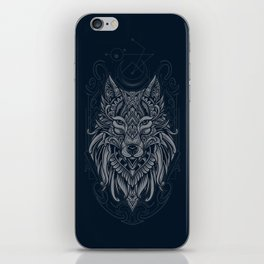 Wolf of North iPhone Skin