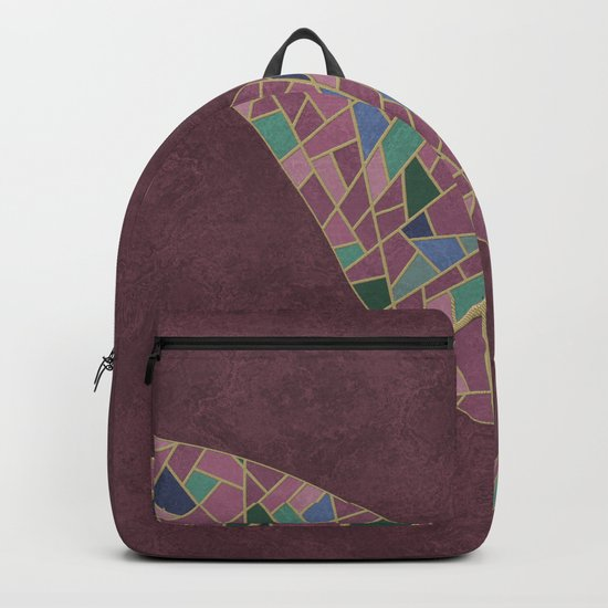 Geometric Marble 03 (abstract) Backpack