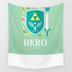 Hero of Time Wall Tapestry