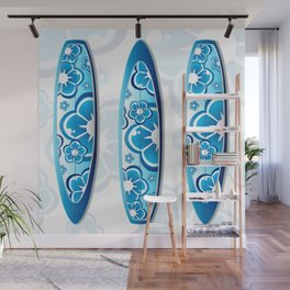 Surfboards Wall Mural