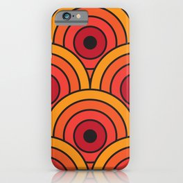 70s wallpaper iPhone Case