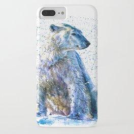 Polar bear iPhone Case