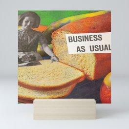 Business as Usual Mini Art Print