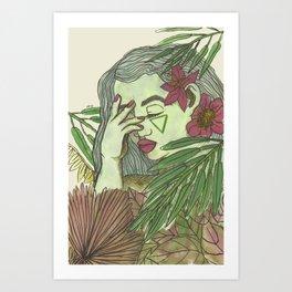 Forest Enchanter Art Print