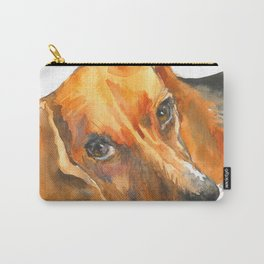 Curious Beagle Carry-All Pouch
