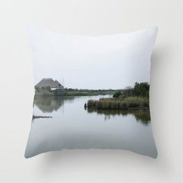 Peaceful lagoon #2 Throw Pillow