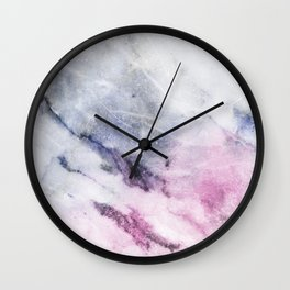 Cosmic pink marble Wall Clock