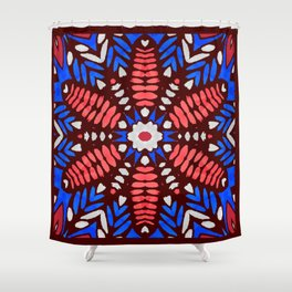 Fourth of July Shower Curtain