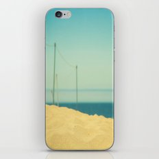 Beach Fence iPhone & iPod Skin