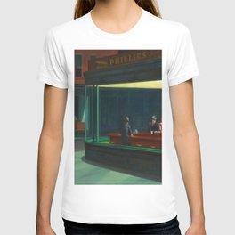 Edward Hopper's Nighthawks T-shirt