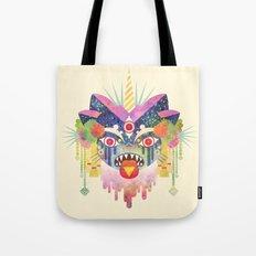 Demon Kitty Tote Bag