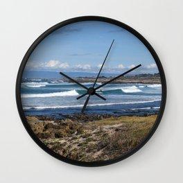 Pebble Beach Landscape Wall Clock