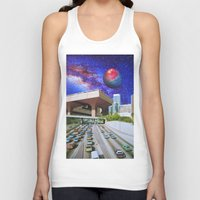 interstellar Tank Tops featuring Interstellar Interstate by John Turck