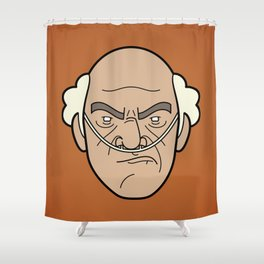 Faces of Breaking Bad: Hector Salamanca Shower Curtain