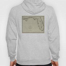 Vintage Map of Florida (1794) Hoody