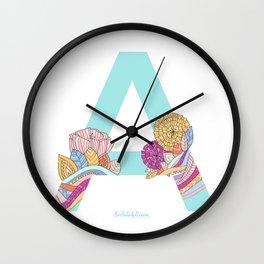 A-TROPICAL Wall Clock