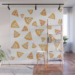 Pizza Crazy Wall Mural