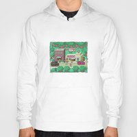 earthbound Hoodies featuring Earthbound town by likelikes