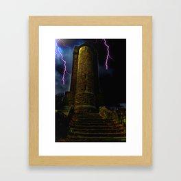 Devils Tower Framed Art Print