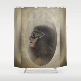 Mascarade Shower Curtain