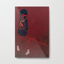Ryuko Matoi Metal Print