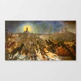"""Théophile Steinlen """"The Apotheosis of the Cats"""" Canvas Print"""