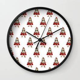 Lucius the roman legionary kid Wall Clock
