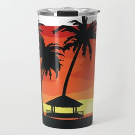 Maldives Sunset Travel Mug