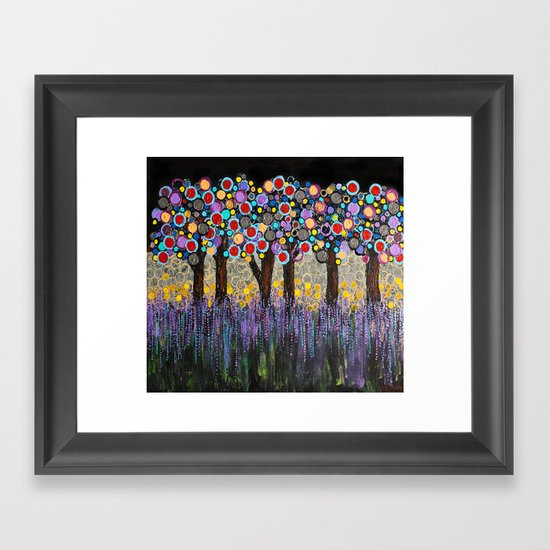 :: When Night Falls :: Framed Art Print
