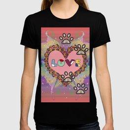 Huellas de amor T-shirt
