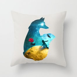The Most Beautiful Thing (light version) Throw Pillow