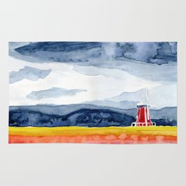 Windmills and Daydreams Rug