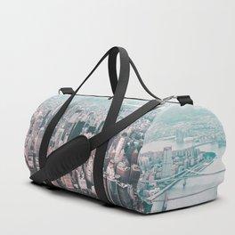 Manhattan NYC Sunset Duffle Bag