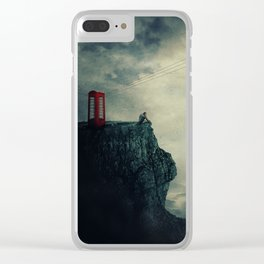 wait for you to call Clear iPhone Case