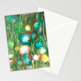 Dahlia flowers Love the Sun 1 Stationery Cards