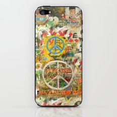 Peace Sign - Love - Graffiti iPhone & iPod Skin