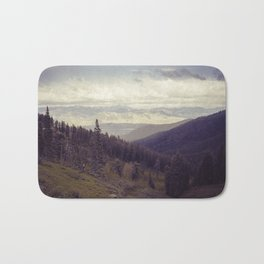 Above The Mountains Bath Mat